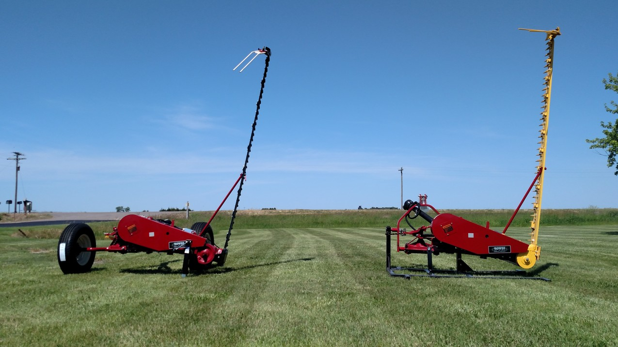 Single Bar Mower - Rowse Rakes