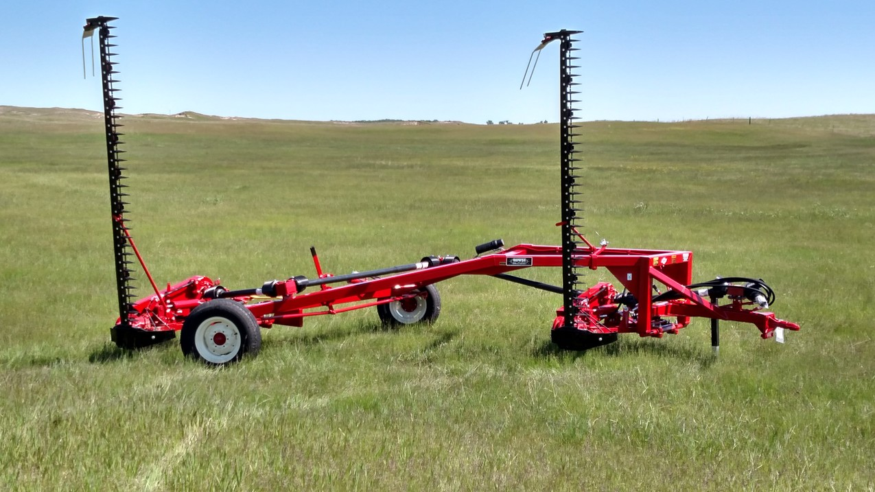 Versatile and adaptable for maximum productivity. Double Bar Mower